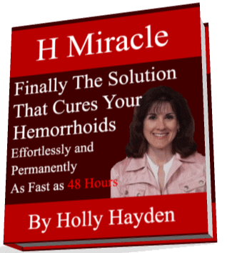 Hemroid treatment with H Miracle
