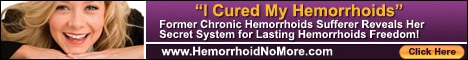 Hemroid treatment with Hemorrhoid No More