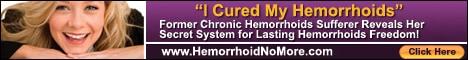 Hemroid treatment with Hemorrhoid No More